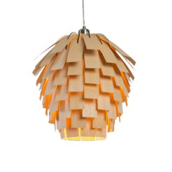 Suspension Scots Light en frêne, Tom Raffield, 418,90€